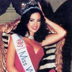 Jacqueline Aguilera Miss World 1995