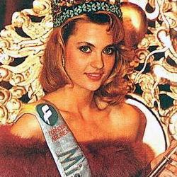 Aneta Beata Kreglicka Miss World 1989