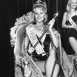 Belinda Roma Green Miss World 1972 Winner