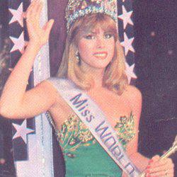 Carmen Josefina Leon Crespo Miss World 1981 Winner