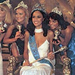 Gina Swainson Miss World