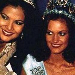 Sarah Jane Hutt Miss World 1983