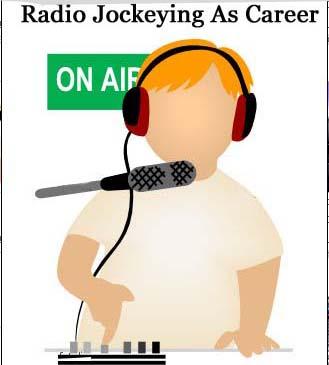 career as radio jockey