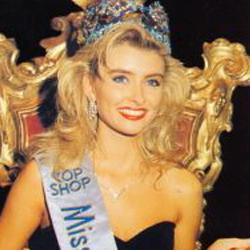 Linda Petursdottir Miss World