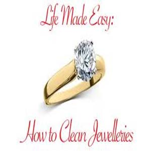 Home tips for cleaning Gold and Silver jewelry