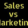 What is difference between Marketing and Sales